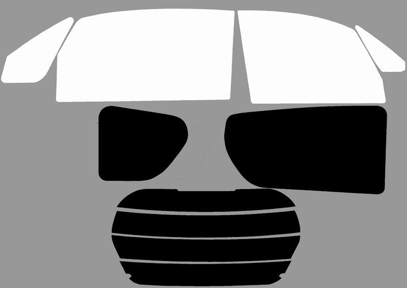 トヨタ ポルテ 車種別カット済フィルム(激安タイプ各色)
